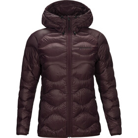 Peak Performance Helium Hood Jacket Dam Mahogany